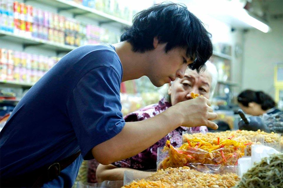 Takumi Saito dans la saveur des ramen de Eric Khoo