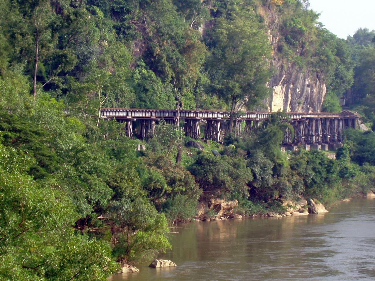 Ligne de chemin de fer Thaïlande - Birmanie - Tham Krasae