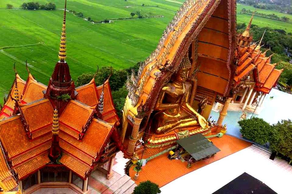 Wat Tham Suea Chedi - Kanchanaburi