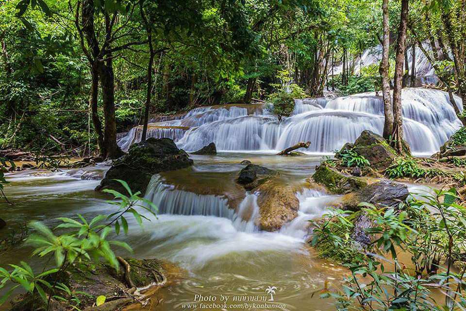 <multi>[en]Erawan Waterfalls[fr]Cascade de Erawan</multi> - Kanchanaburi