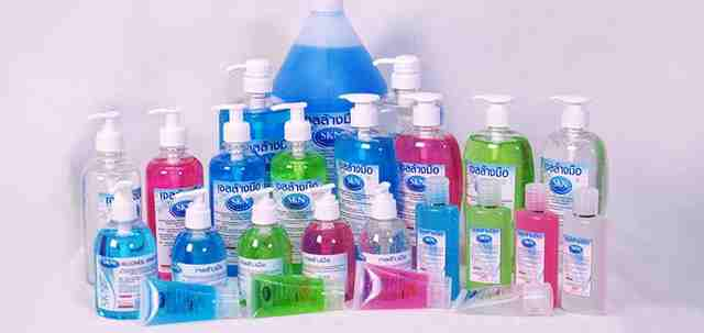 <multi>[en]Range of antibacterial hand gels[fr]Gamme de gels antibactériens pour les mains</multi>