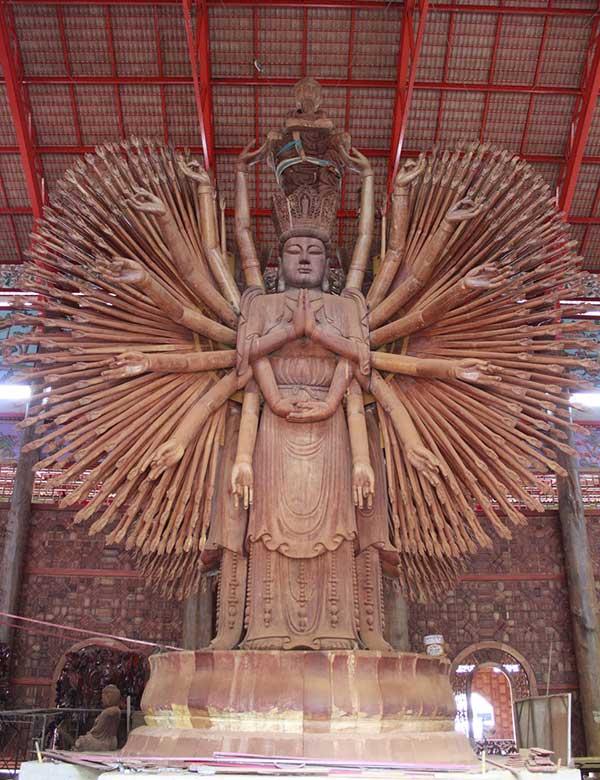 Cha Mae Kuan Im - Wat Mattatham Bhodiyian - Kanchanaburi