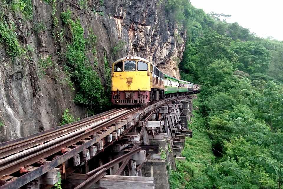 Ligne de  chemin de fer de la mort